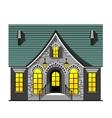 Nice house vector image