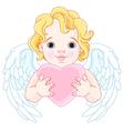 Cupid vector image vector image