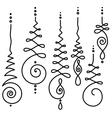 Buddhism sacred geometry design vector image