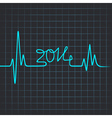 Heartbeat make 2014 vector image