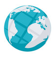 internet or globe icon vector image