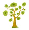 Cartoon Bonsai Tree vector image vector image