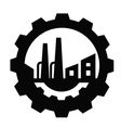 Industry icon vector image vector image