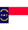 North Carolina vector image