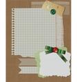 scrapbook christmas design vector image