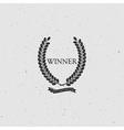 Winner Award Sign vector image