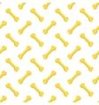Seamless Bones for Dog Pattern vector image