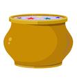 Magic pot EPS10 vector image