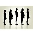 Male Body Type vector image