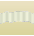 Beige Torn Paper Reveal Stripes Panel vector image
