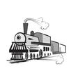 train cartoon vector image