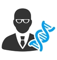 Genetic Engineer Icon vector image