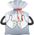 A pouch bag vector image vector image