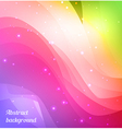 Bright spectrum background vector image