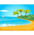 Seafront vector image