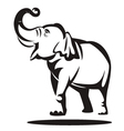 elephant graphic vector image