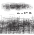 grunge pencil immitation vector image