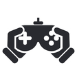 Video game icon vector