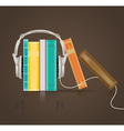 audio books vector image vector image