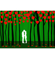 Valentine Forest vector image