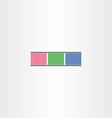 colorful film strip icon vector image