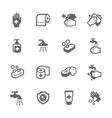 Hygiene Icons vector image