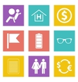 Color icons for Web Design set 47 vector image vector image