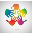 Hand Print icon vector image