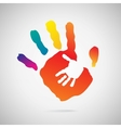 Hand Print icon vector image