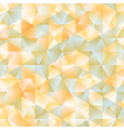 Warm abstract triangular background vector image