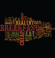 You can eat cheap but eat healthy to lose weight vector image