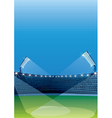 Sports stadiums vector image vector image
