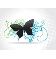 Beautiful butterfly art vector image