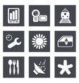 Icons for Web Design set 50 vector image