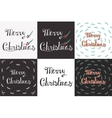 Greeting Card with hand drawn lettering vector image