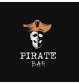 pirate bar vector image