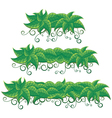 Leaf Banners vector image