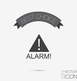Exclamation Sign icon vector image