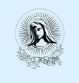 Ave Maria vector image