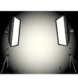 photographic lighting vector image
