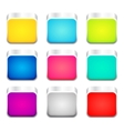 Set of color apps icons vector image