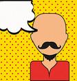 pop art comic vector image