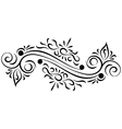 Doodle abstract handdrawn ornament vector image