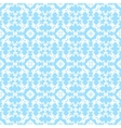 Blue decorative pattern vector image