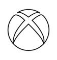 Xbox vector image
