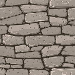 seamless cartoon stone texture vector